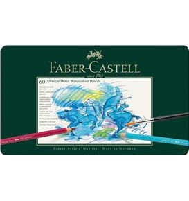 Faber-Castell - Albrecht Dürer watercolour pencil, tin of 60