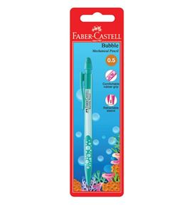 Faber-Castell - Mechanical pencil Bubble, 0.5mm, blistercard of 1