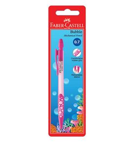 Faber-Castell - Mechanical pencil Bubble, 0.7mm, blistercard of 1