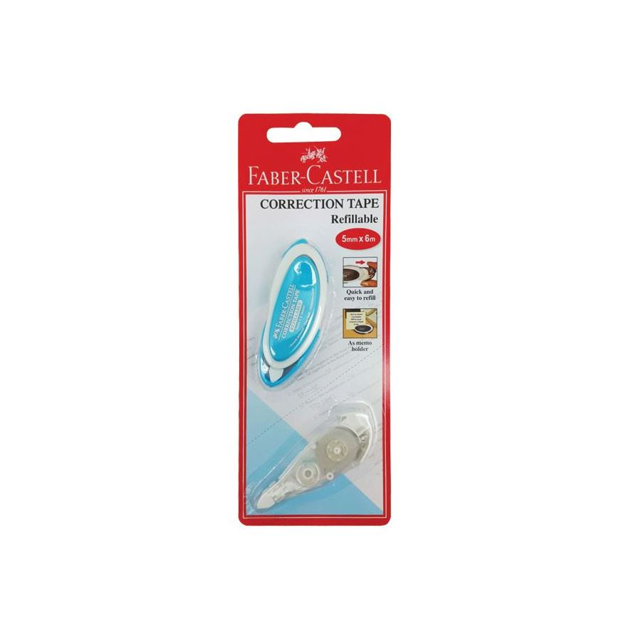 Faber-Castell - Refill Corrector Tape with 1 refill
