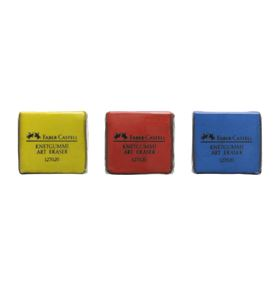 Faber-Castell - Kneadable eraser yellow red blue