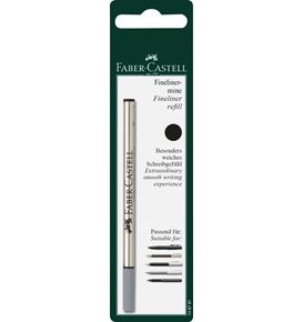 Faber-Castell - Refill for fineliner black