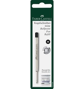 Faber-Castell - Ballpoint pen refill black Medium