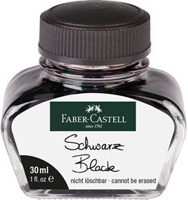 Faber-Castell - Ink glass Black 30 ml