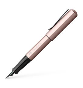Faber-Castell - Fountain pen Hexo rose extra fine
