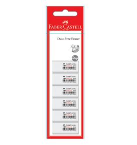 Faber-Castell - Eraser Dust-free 7086-40 (polybag of 6)