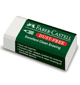 Faber-Castell - Eraser Dust-free with sleeve 7085-30