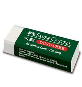 Faber-Castell - Eraser Dust-free with sleeve 7085-20