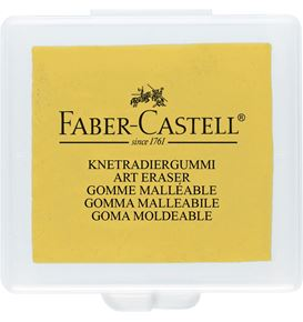 Faber-Castell - Kneadable Art Eraser, yellow, red, blue