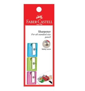 Faber-Castell - Sharpener SQUARE 5848 (Pastel colours)
