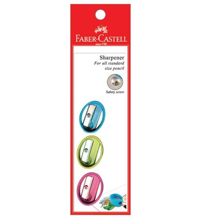 Faber-Castell - Sharpener OVAL 5849 (Pastel colours)