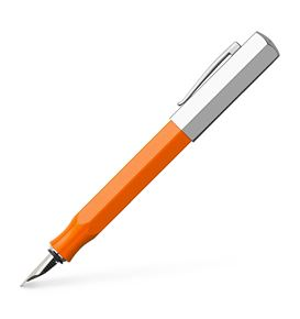 Faber-Castell - Fountain pen Ondoro precious resin orange fine