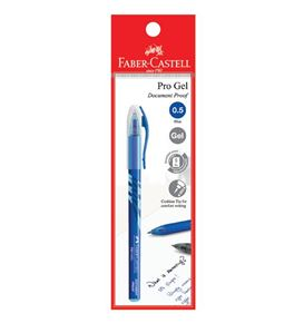 Faber-Castell - Gel pen Pro Gel, 0.5mm, blue, blistercard of 1
