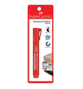 Faber-Castell - Marker Permanent P20 red BC