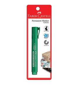 Faber-Castell - Marker Permanent P20 green 1x BC