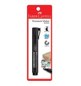 Faber-Castell - Marker Permanent P20 black 1x BC
