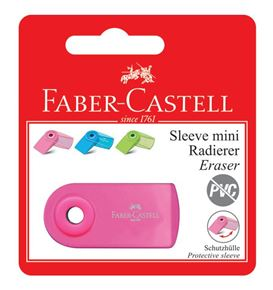 Faber-Castell - Eraser Sleeve Mini, Flourescent Colours