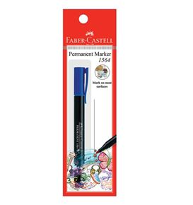 Faber-Castell - Marker Slim Permanent fine blue 1x