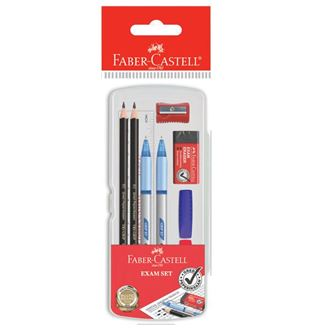 Faber-Castell - Exam Set in clear box