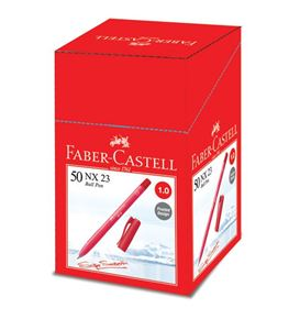 Faber-Castell - Ballpoint pen NX 23 1.0mm, red
