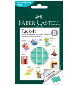 Faber-Castell - Adhesive Tack-It 187091 50g green