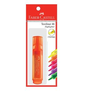 Faber-Castell - Textliner 46 Superflourescent, orange, set of 1
