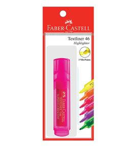 Faber-Castell - Textliner 46 Superflourescent, pink, set of 1