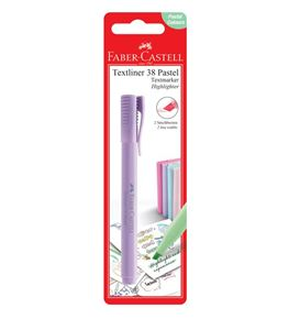 Faber-Castell - Textliner 38 Pastel - BC of 1 pc - Lavender