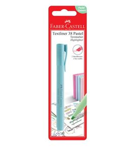 Faber-Castell - Textliner 38 Pastel - BC of 1 pc - Sky Blue