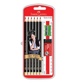 Faber-Castell - Graphite pencil Tri-Grip 2B, Score A