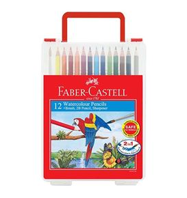 Faber-Castell - Watercolour pencils 12L in wonder box