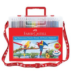 Faber-Castell - Watercolour pencils 36L in wonder box