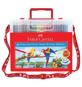 Faber-Castell - Watercolour pencils 48L in wonder box